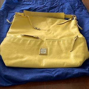 Dooney & Bourke leather travel tote purse